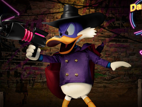Beast Kingdom Dynamic 8ction Heroes DAH-40 Darkwing Duck