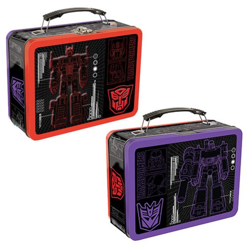 Transformers Blueprint lunch kit