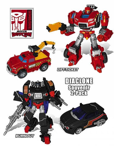 BotCon 2015 Exclusive Diaclone Explorer 2-pack (TFVAAN6)