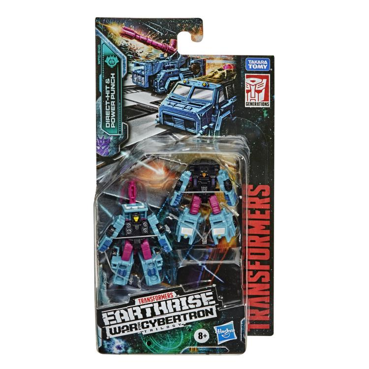 War for Cybertron: Earthrise Direct Hit and Power Punch
