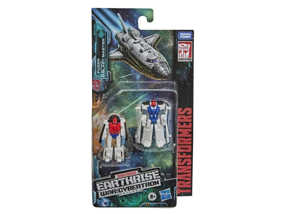 Hasbro War For Cybertron: Earthrise Micromaster Fuzer and Blast Master