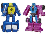 Hasbro War for Cybertron: Earthrise Micromaster Roller Force and Ground Hog
