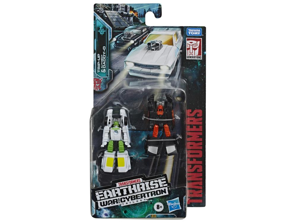 Hasbro War for Cybertron: Earthrise Trip-Up and Daddy-O