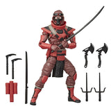 Hasbro GI Joe Classified Red Ninja