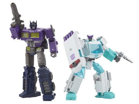 Generations Selects Shattered Glass Optimus Prime and Ratchet 2 pack