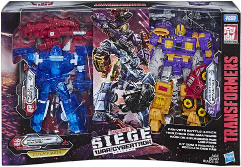 Hasbro Siege Fan Vote 3 Pack