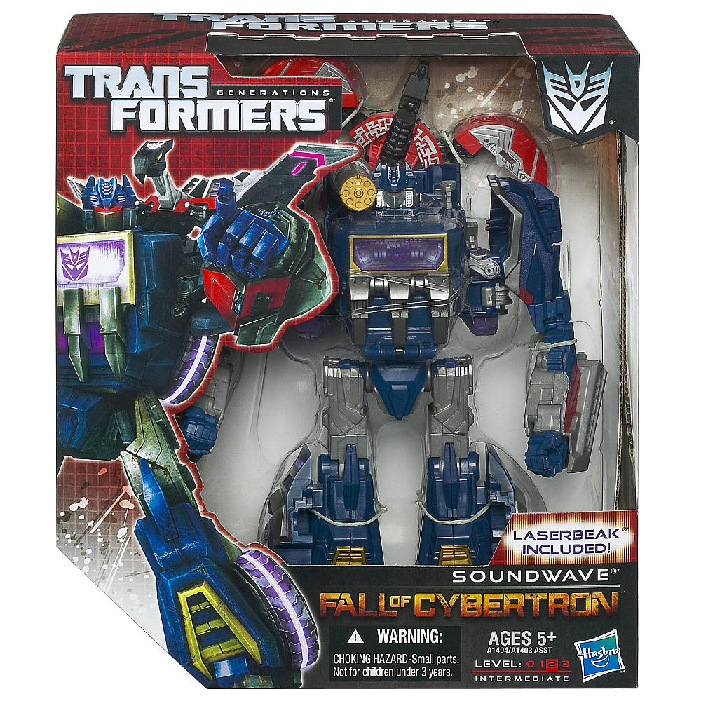Generations Fall of Cybertron Soundwave (TFVAAA2)