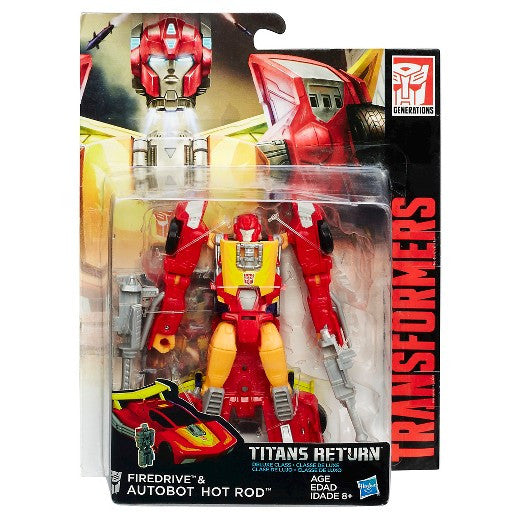 Hasbro Titans Return Hot Rod