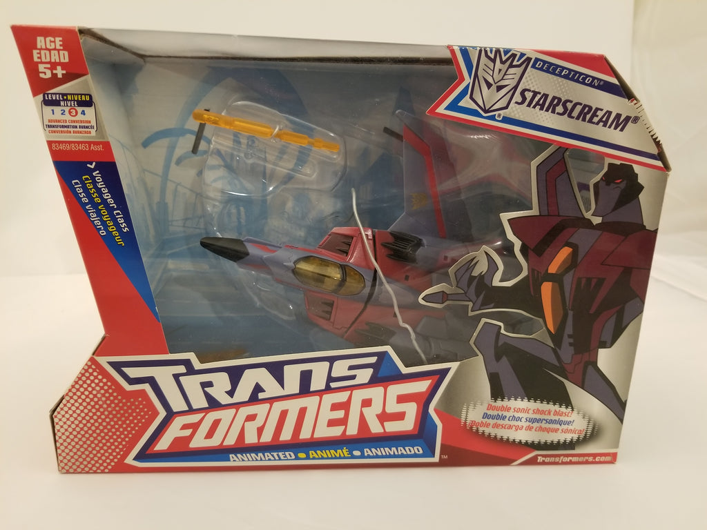 Transformers: Animated Starscream (TFVACF3)