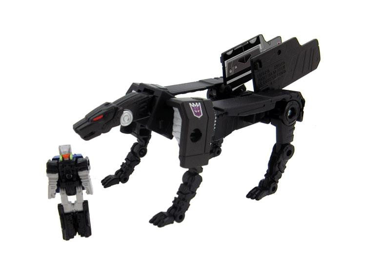 Takara Legends LG37 Jaguar (Ravage) and Bullhorn