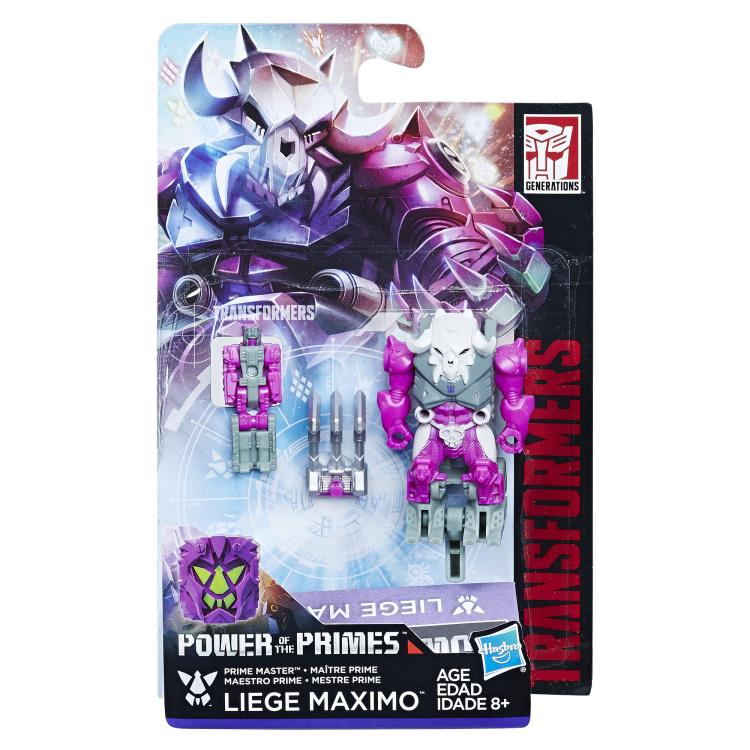 Hasbro Power of the Primes Leige Maximo and Skullgrin