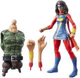Marvel Legends Ms Marvel (Sandman BAF)