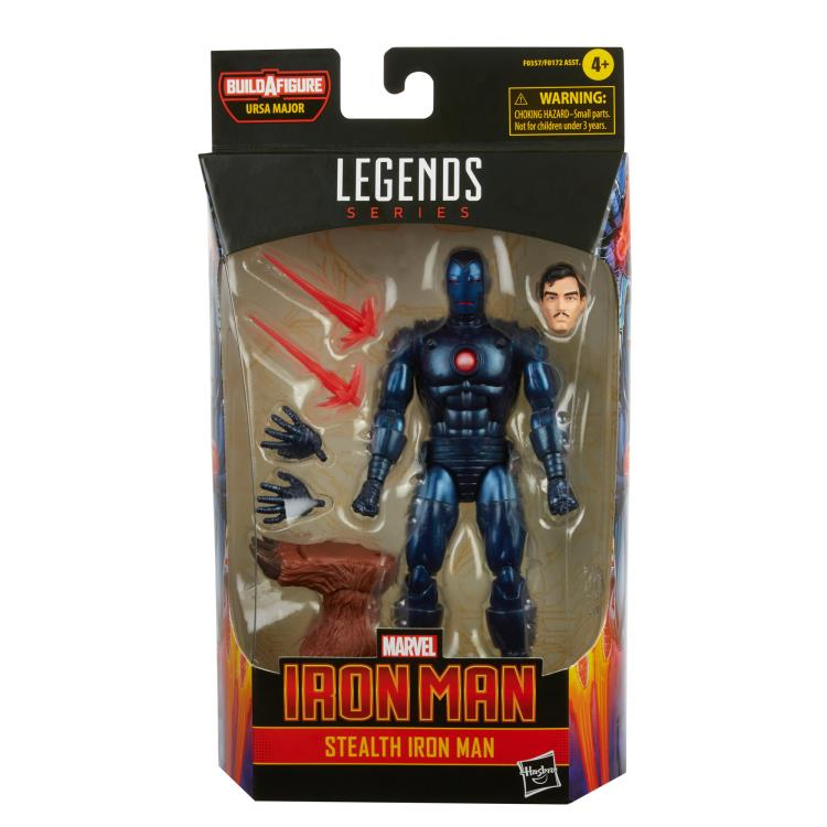 Marvel Legends Stealth Iron Man (Ursa Major BAF)