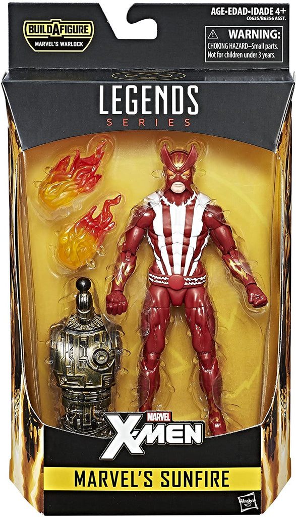 Marvel Legends Sunfire (Warlock BAF)