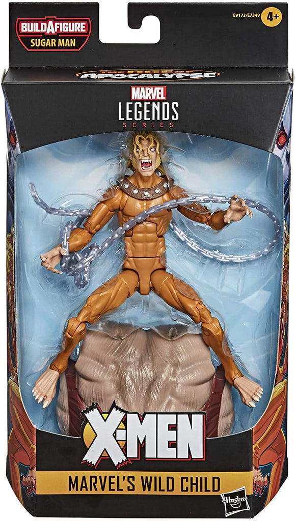 Marvel Legends Wild Child Sugar Man BAF