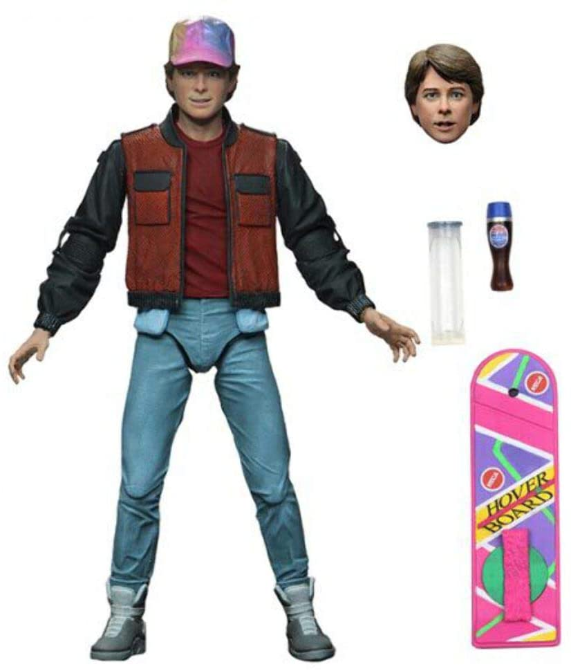 NECA Back to the Future Part 2 Ultimate Future Marty McFly