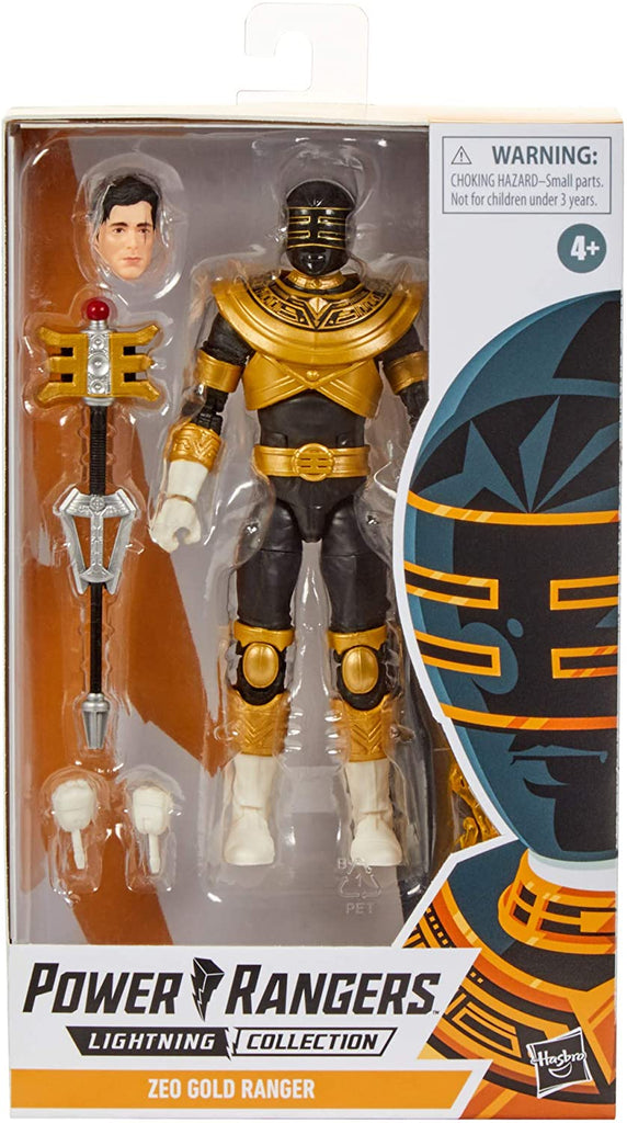 Power Rangers Lightning Collection Zeo Gold Ranger