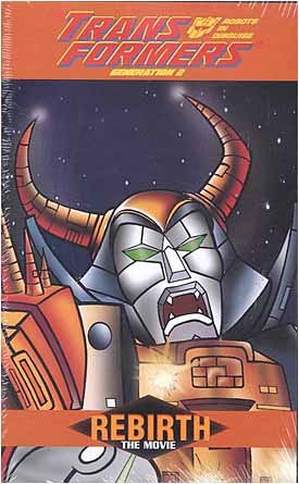 Transformers: The Rebirth (VHS)