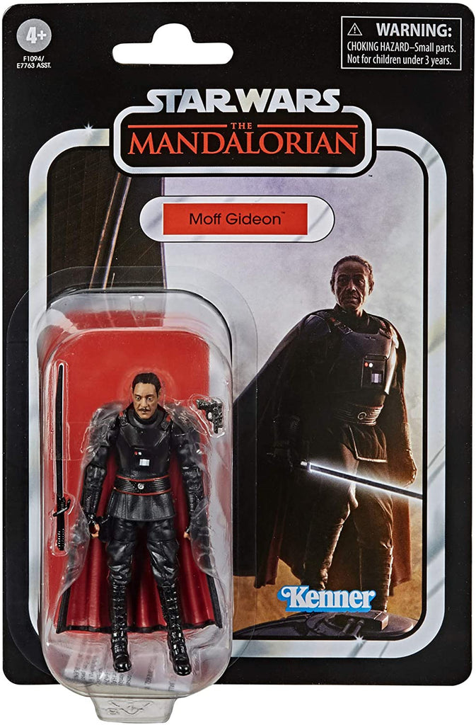 "Star Wars Vintage Collection 3.75"" The Mandalorian Moff Gideon"