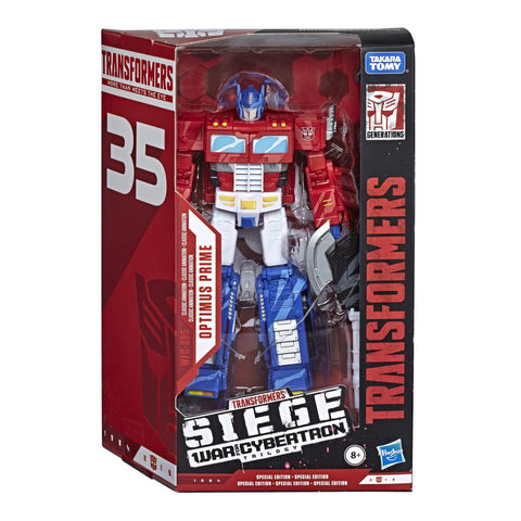 Hasbro Siege Cell Shaded Optimus Prime