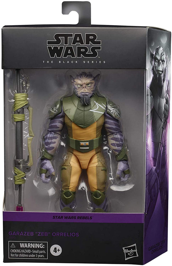 "Star Wars Black Series Garazeb ""Zeb"" Orrelios (Rebels)"