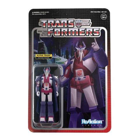 Super7 ReAction Alpha Trion