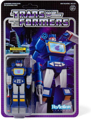 Super7 ReAction Series Soundwave