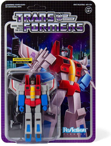 Super7 ReAction Series Starscream