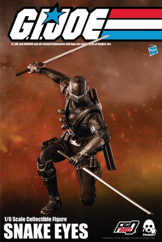 ThreeZero GI Joe Snake Eyes 1/6 Scale Figure
