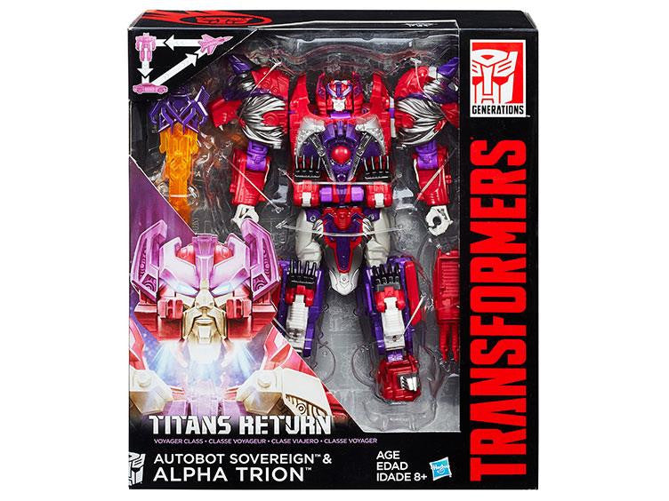 Hasbro Titans Return Alpha Trion
