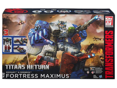 Hasbro Titans Return Fortress Maximus