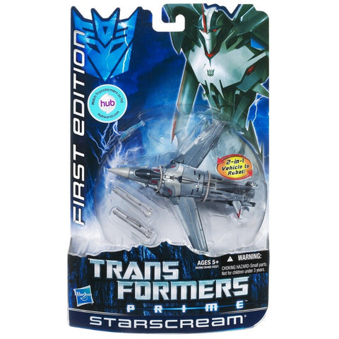 Transformers Prime First Edition Starscream (TFVABQ3)