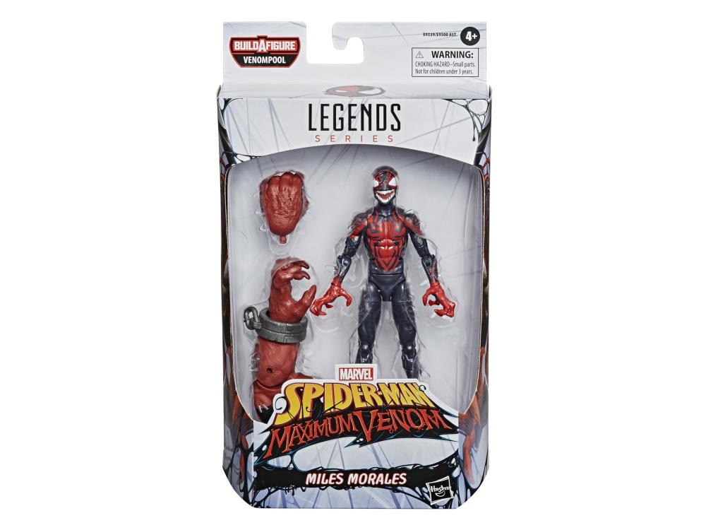 Marvel Legends Venomized Miles Morales (Venompool BAF)