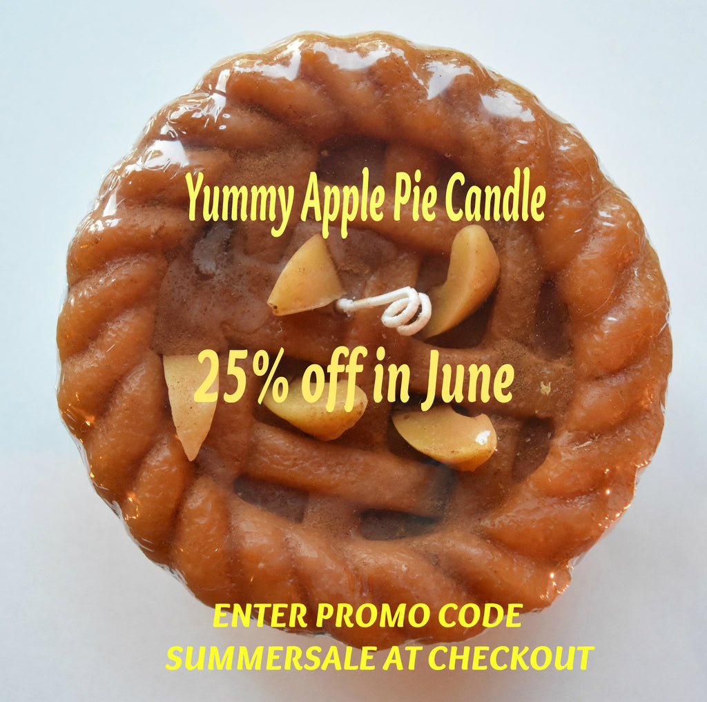 Apple Pie June's Candle of the Month