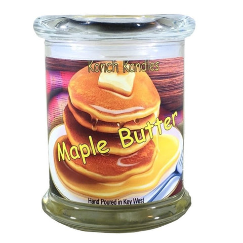 Maple Butter Status Jar