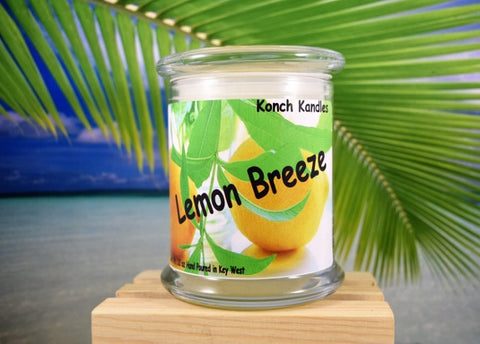 Lemon Breeze Status Jar