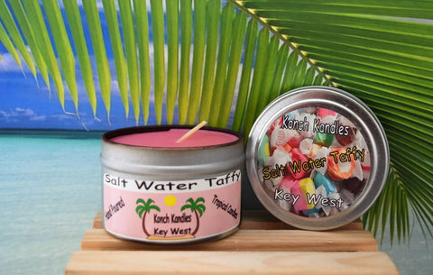 Salt Water Taffy Travel Candle