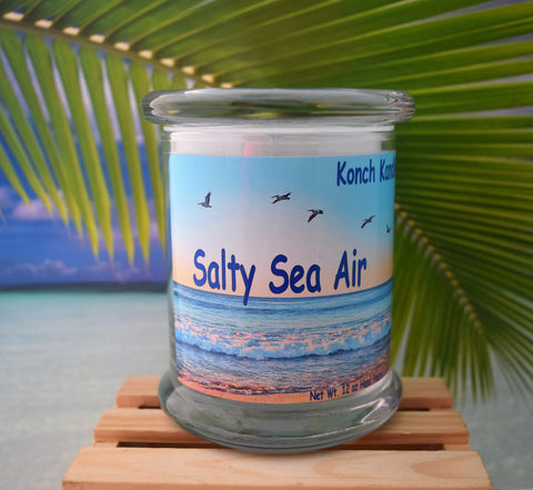Salty Sea Air Status Jar
