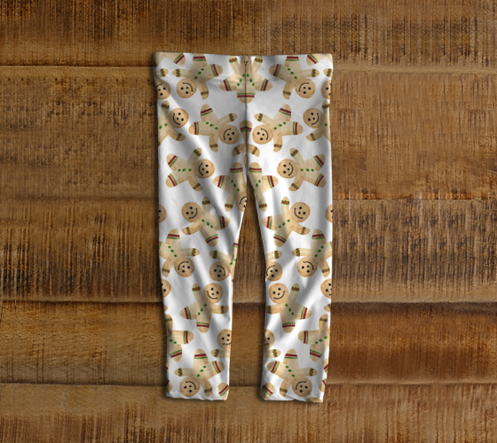 Gingerbread Men Leggings - Cookie Leggings