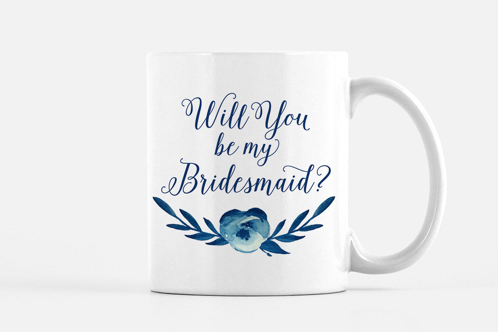 Will You be my Bridesmaid - Cotton Blossom