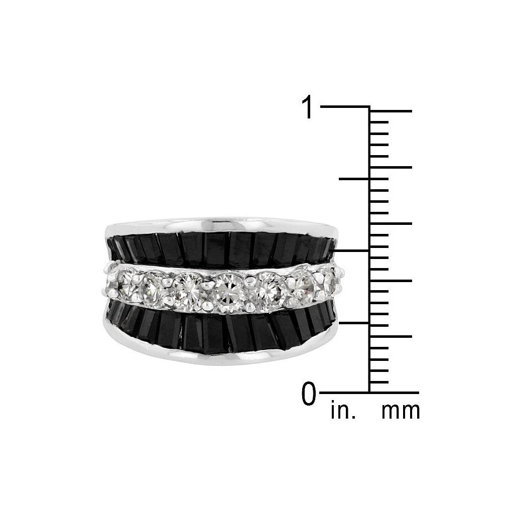CZ Groove Ring - Similar to Cartier - Maison du Roi - 3