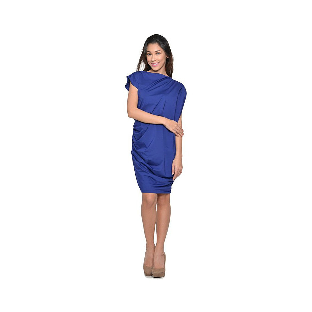 Georgina Dress- Blue Violet - Maison du Roi - 2