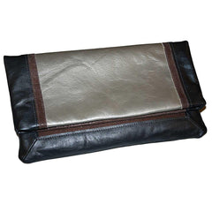 The Brooklyn Fold-Over Clutch - Cocoa  - Similar to Chanel - Maison du Roi - 2