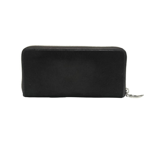 Astor Single Zip Clutch Wallet - Similar to Chanel