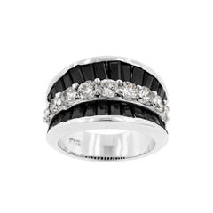 CZ Groove Ring - Similar to Cartier - Maison du Roi - 2