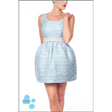 BABY BLUE DRESS MADNESS - Maison du Roi