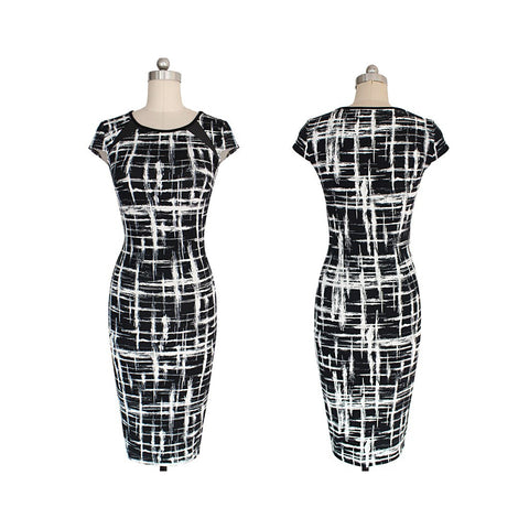 Black and White Day to Night Dress - Maison du Roi - 1