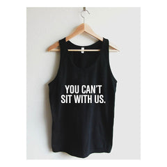 You Can't Sit With Us Unisex Tank Top - Maison du Roi - 2