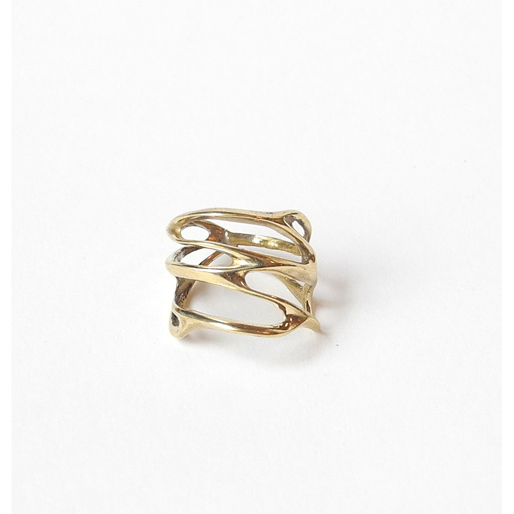 Swirl Ring - Similar to Cartier - Maison du Roi - 1