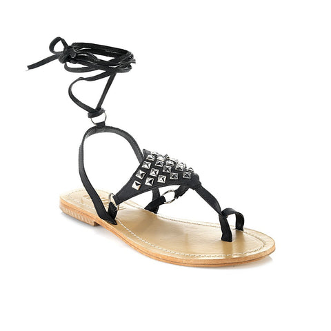 Amazon Black Sandal - Maison du Roi - 1